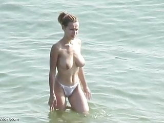 Xhamster busty blonde at nude beach